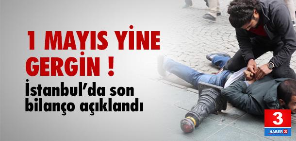 1 Mayıs yine gergin: 189 kişi gözaltına alındı