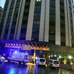 Beşiktaş'ta lüks otelde feci ölüm
