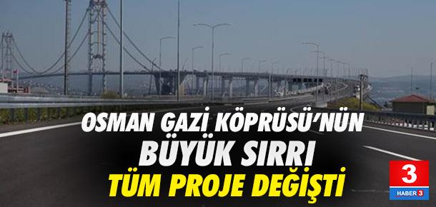 Osman Gazi Köprüsü işte bu yüzden kavisli