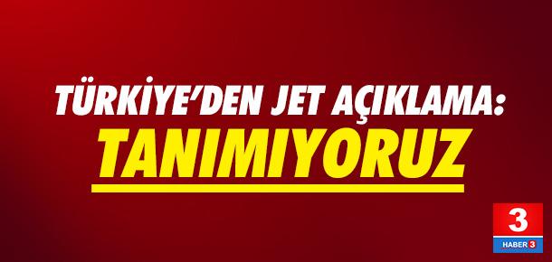 Türkiye'den Kıbrıs Rum Kesimi açıklaması: Tanımıyoruz