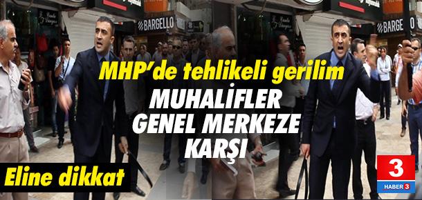 Adana'da MHP'liler arasında gerilim !