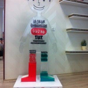 Ortalama 70 yıllık ömrünüzde 460kg tuz tükettiğinizi biliyor muydunuz ?