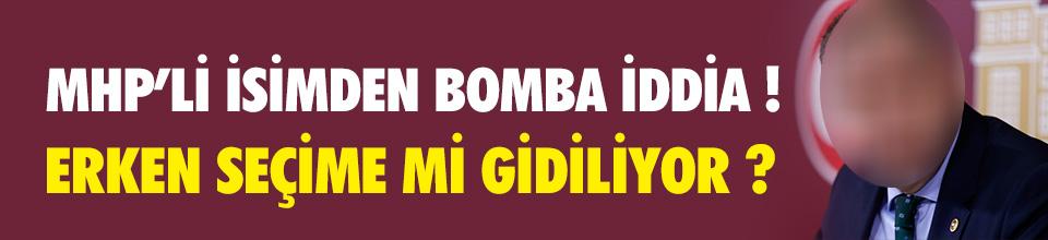MHP'li Özdağ'dan bomba iddia !