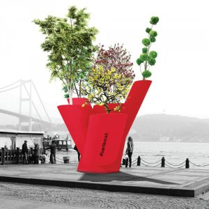 Beşiktaş'ta her yer çiçek açacak
