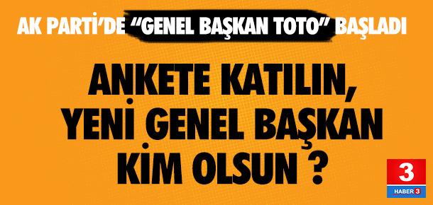 AK Parti'de yeni genel başkan kim olmalı ?