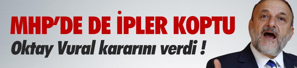 Oktay Vural: ''MHP diye bir parti kalmadı''