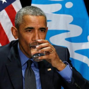 Obama suyu böyle test etti !