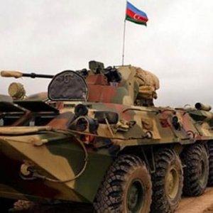 Azerbaycan ordusundan gövde gösterisi