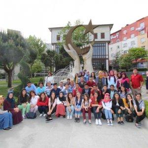 Urfalı öğrenciler Bağcılar'ı ziyaret etti