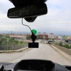 Emniyet şeridi kameralı ambulanslara emanet