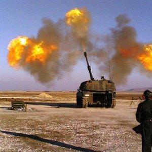 TSK IŞİD'i vurmaya devam ediyor !