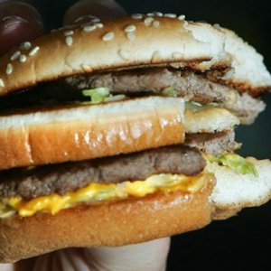 Hamburgerde insan ve fare DNA'sı bulundu !