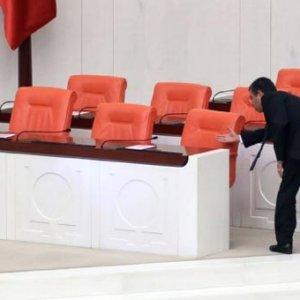 Meclis'ten ilginç fotoğraf
