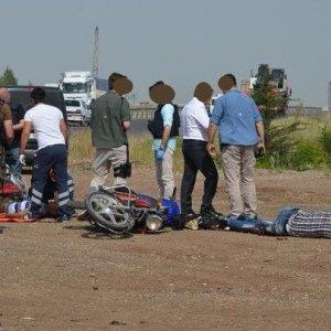 PKK'lılar motorsiklet üzerindeyken vuruldu