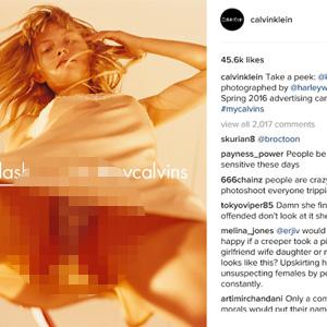 Kadınlar 'etek altı' reklama savaş açtı