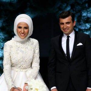 Sümeyye Erdoğan'ın gelin buketini kim aldı ?