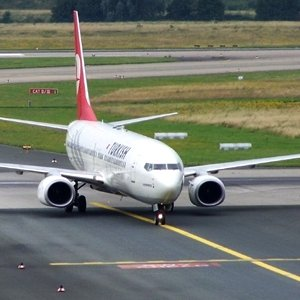 O uçak acil iniş yaptı !