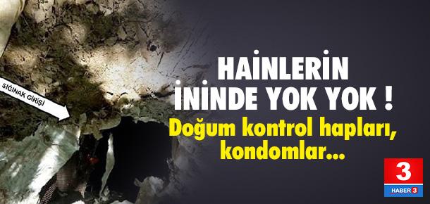 Bingöl'de PKK sığınağından öyle bir şey çıktı ki !