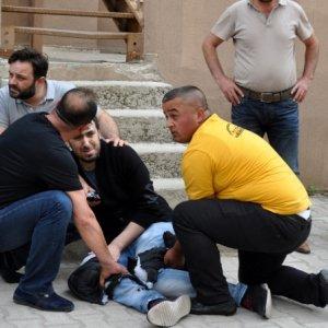 Bursa'da silah ve bıçaklı kavga !