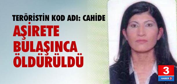 Aşirete bulaşan kadın PKK'lının sonu