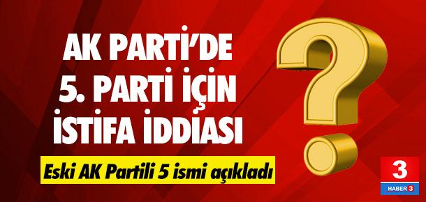 AK Parti'de istifa dedikodusu