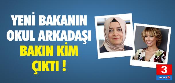 Fatma Betül Sayan Kaya bakın kimin okul arkadaşı çıktı !