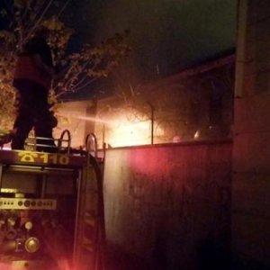 PKK'lılar okulu ateşe verdi !