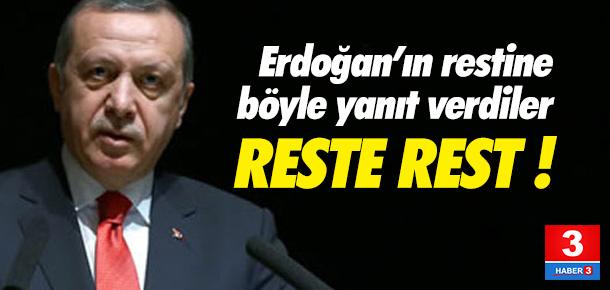 AB'den Erdoğan'a sert yanıt