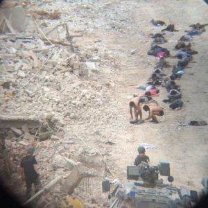 42 teröristin teslim olduğu an kamerada