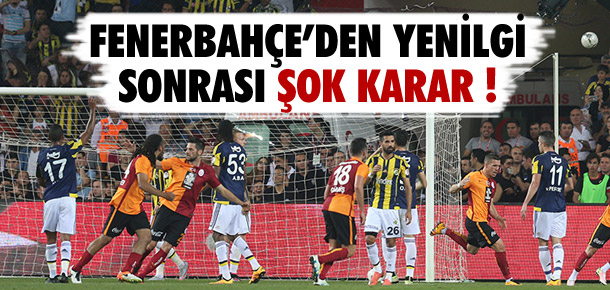 Fenerbahçe madalya törenine katılmadı