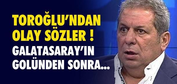 Galatasaray'ın golünden sonra olay sözler