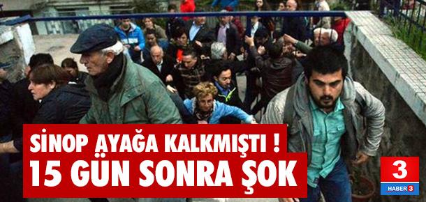 Nurettin Yıldız protestosunda 17 gözaltı