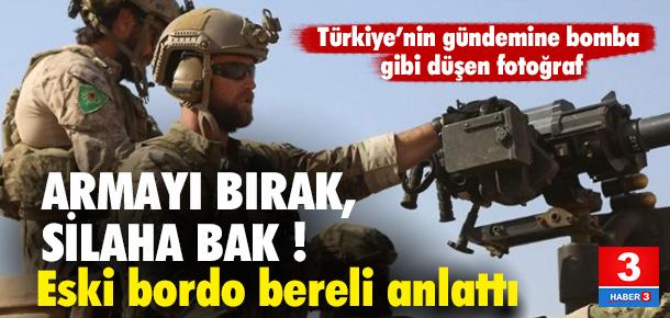 YPG armasını bırakın, silaha bakın !