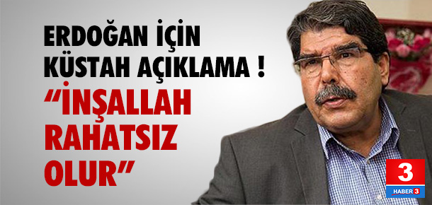 Salih Müslim'den Erdoğan için küstah açıklama