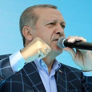 Erdoğan: Allah'a kulluk diye bir şey yok bunlarda