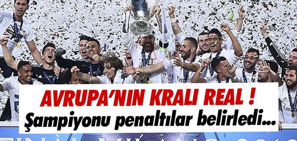 Avrupa'nın kralı Real Madrid !
