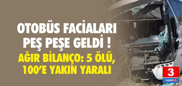 Türkiye otobüs facialarıyla sarsıldı !