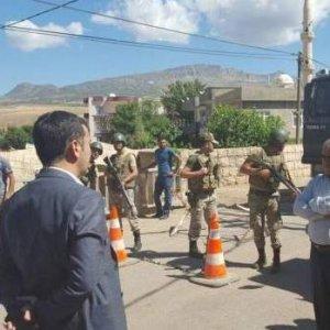 HDP'li Encü'ye asker izin vermedi !