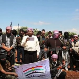 PKK karşıtı Kürtler silah kuşandı