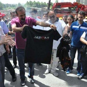 Jatomi çalışanlarından protesto !