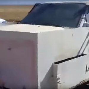 IŞİD'in modifiyeli arabası şaşırttı