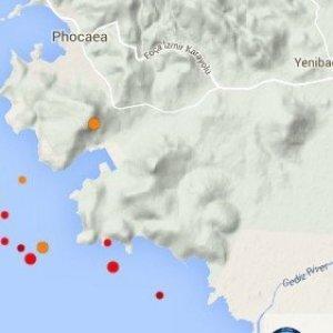 İzmir Körfezi'nde 36 artçı deprem
