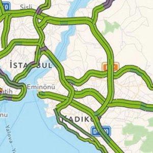 İstanbul trafiği şaşırttı