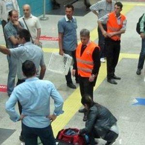 Patlama sonrası metro istasyonlarında alarm
