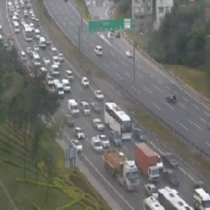 FSM'de kaza var, trafik felç oldu !