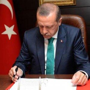 Erdoğan dokunulmazlık yasasını onayladı !