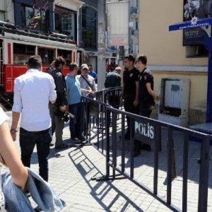 İstiklal Caddesi'nde yeni güvenlik önlemi
