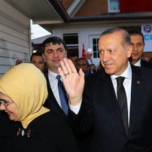Erdoğan'ın korumaları ABD Gizli Servis ajanlarıyla tartıştı