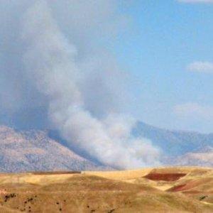 Cudi Dağı'nda yangın çıktı !