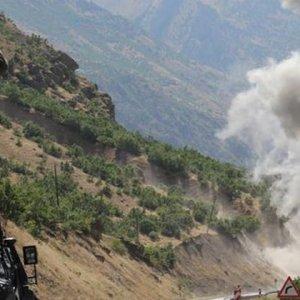 PKK'lı saldırgan parçalara ayrıldı